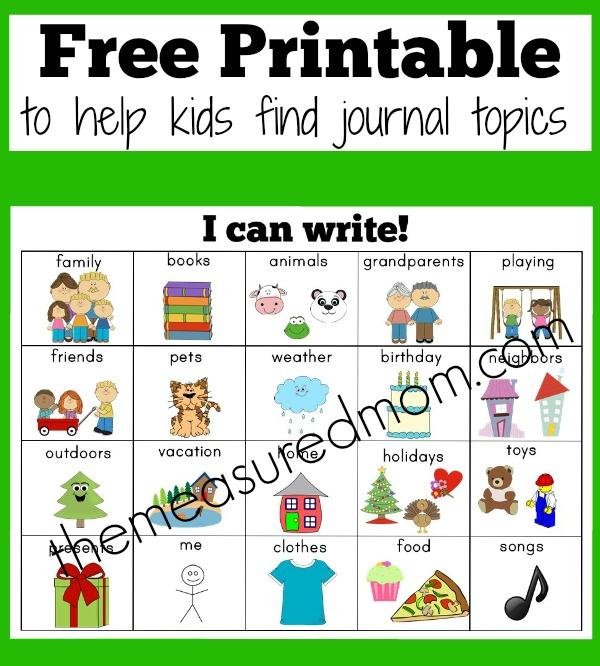 English creative writing for kids