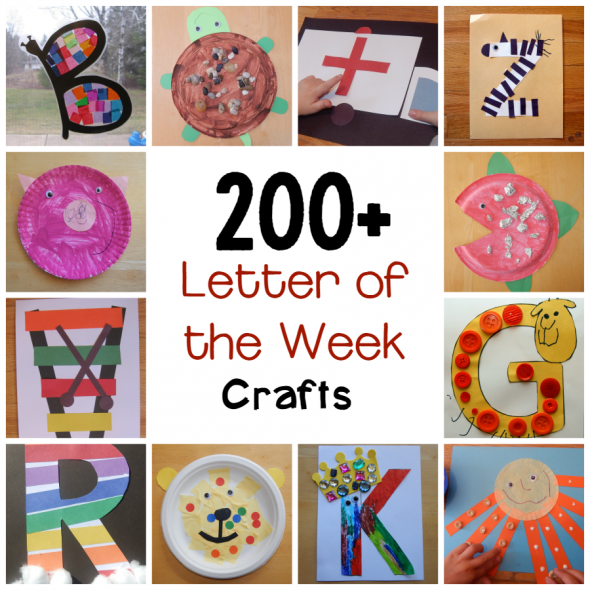 200+ letter of the week crafts