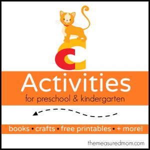 Letter C Activities - the measured mom