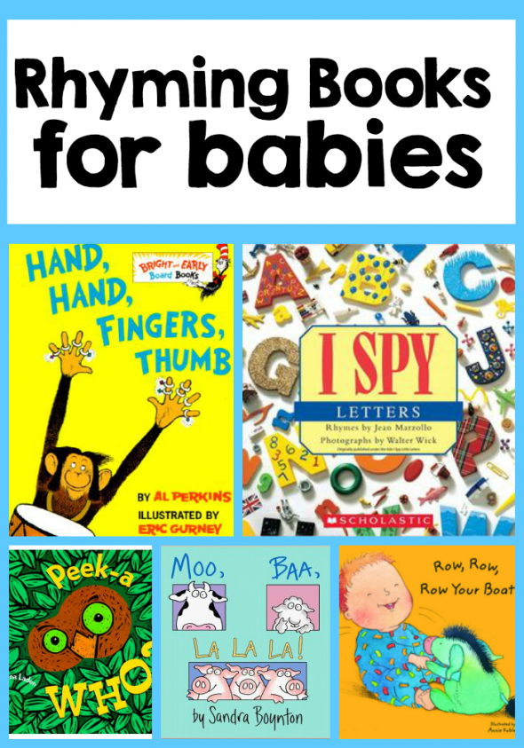 Here's a list of fantastic rhyming books for babies! It's a great list to choose from when you're buying for a new mom.