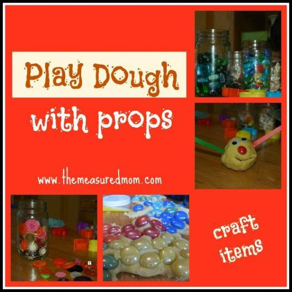 simple play dough idea - the measured mom