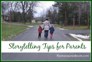Burn Kids' Energy: Go for a Story Walk (with storytelling tips for parents!)
