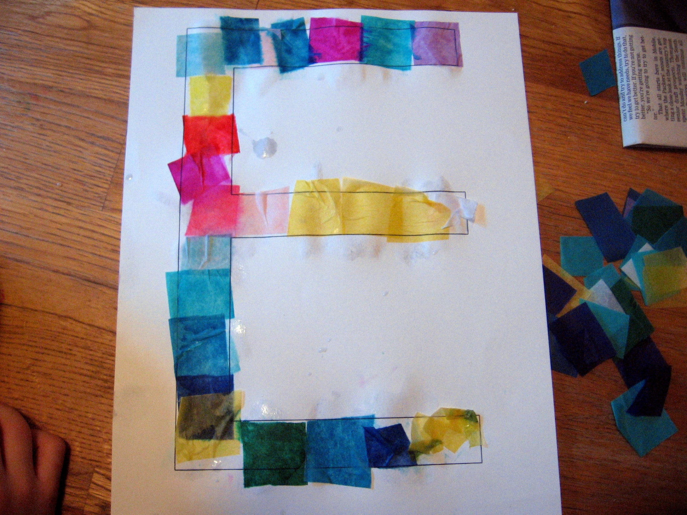 Letter E Craft Ideas The Measured Mom