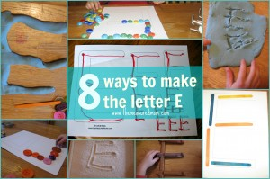8 Ways to Make the Letter E