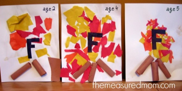 Letter F Craft (2) - the measured mom