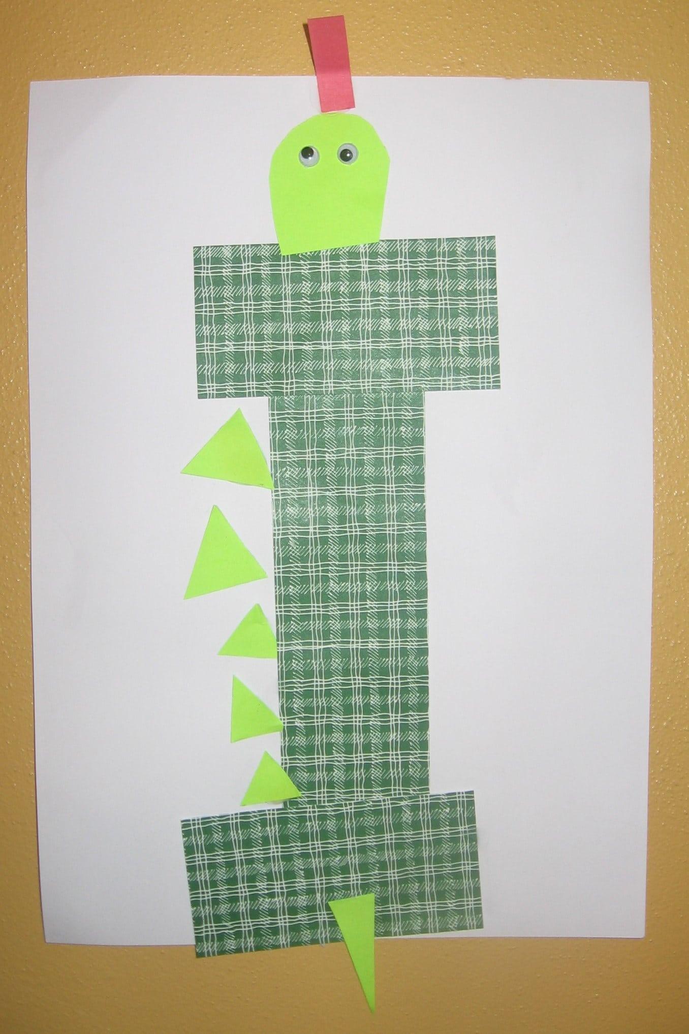 letter i crafts Erkalnathandedecker