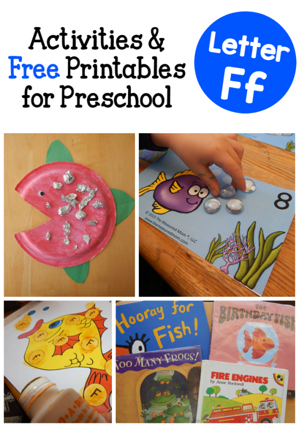 letter F activities for preschool
