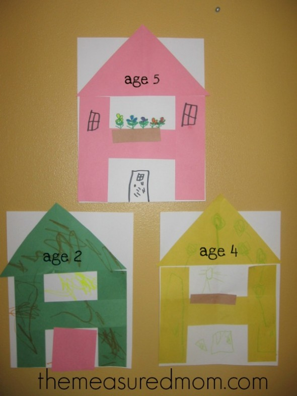 H is for House: A Letter of the Week Preschool Craft | Family ...