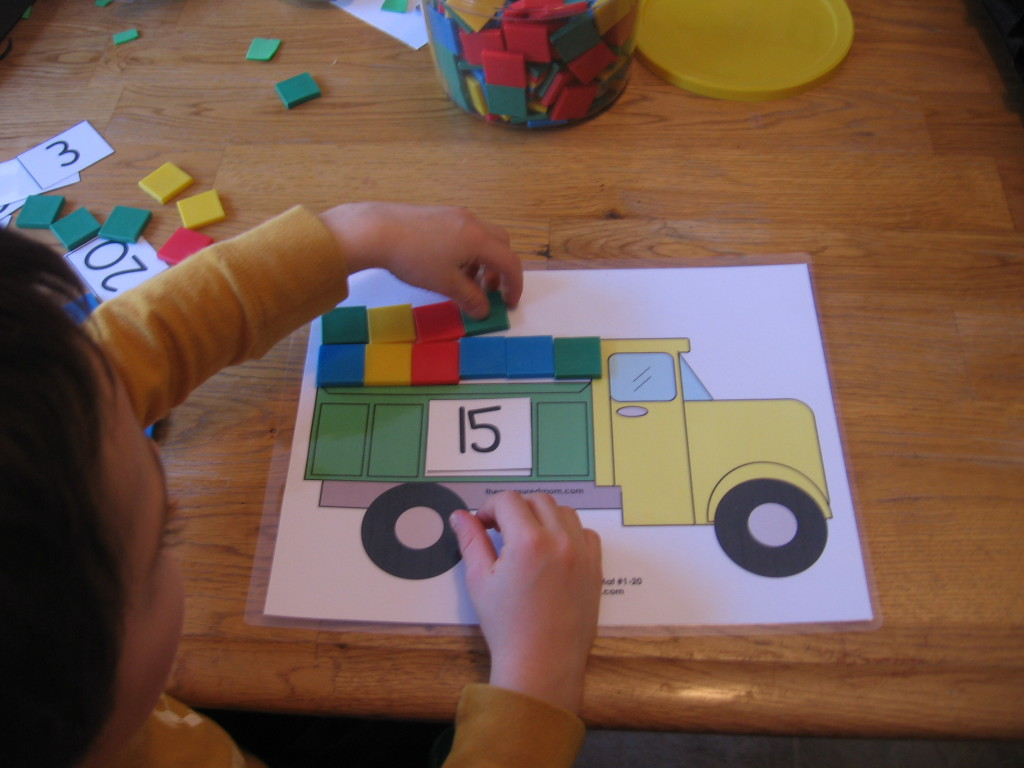 10 preschool math activities the letter t the measured mom for Imagine crafts craft mat