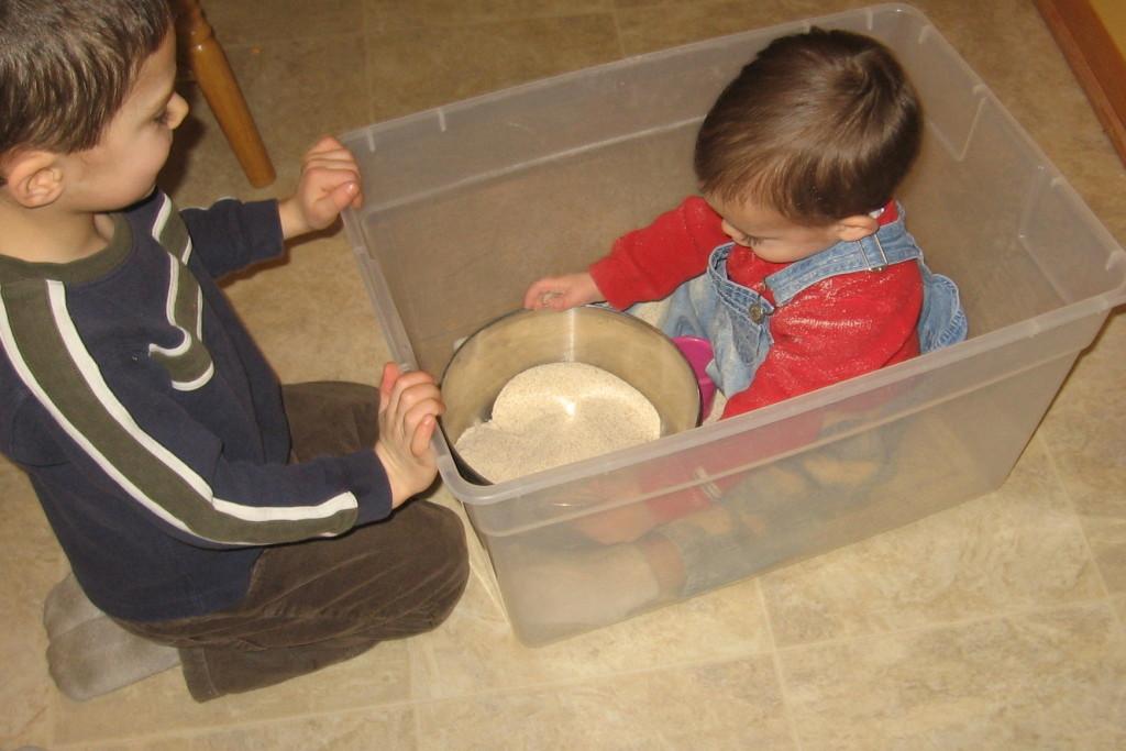 """children with """"sandbox"""""""