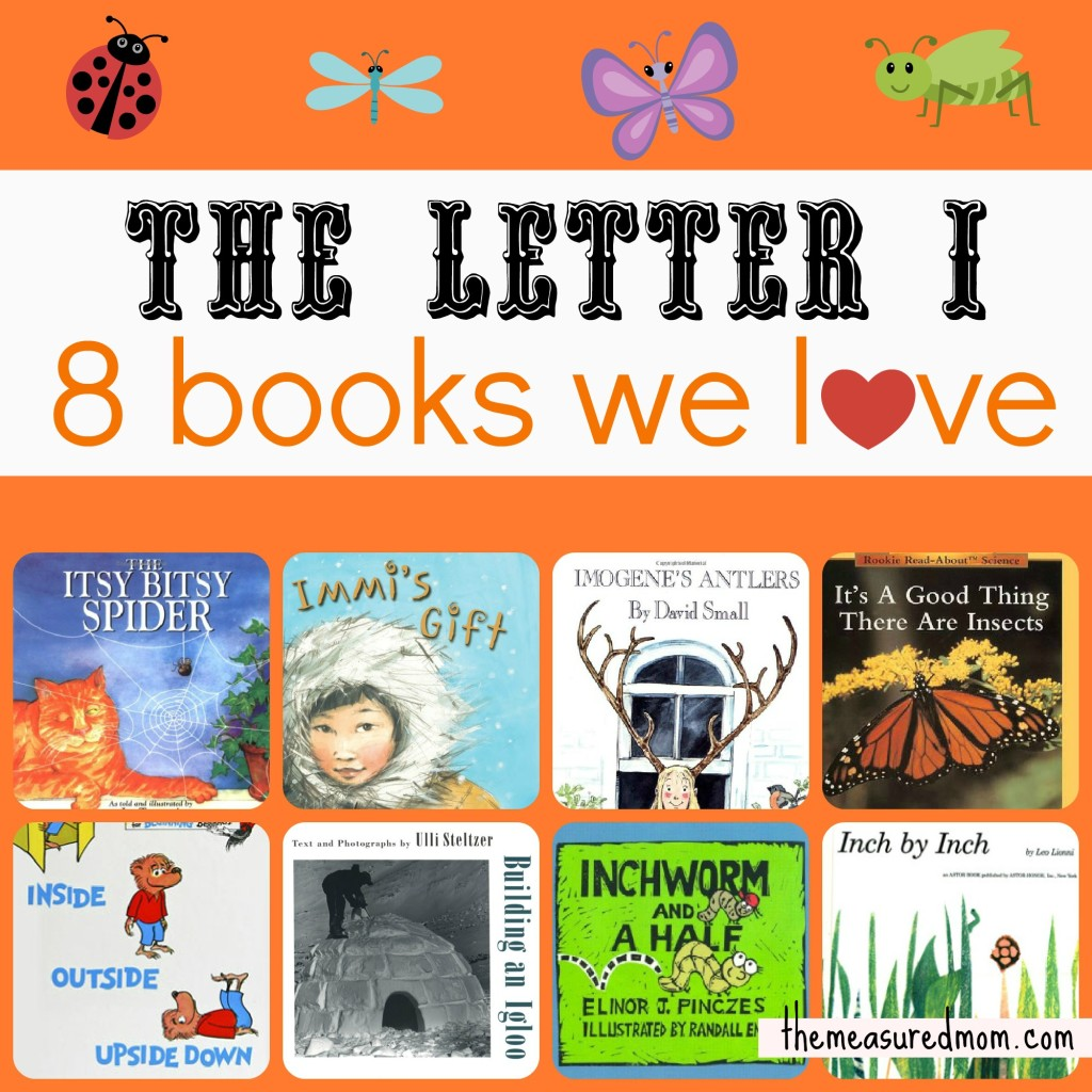 books for Letter I - the measured mom