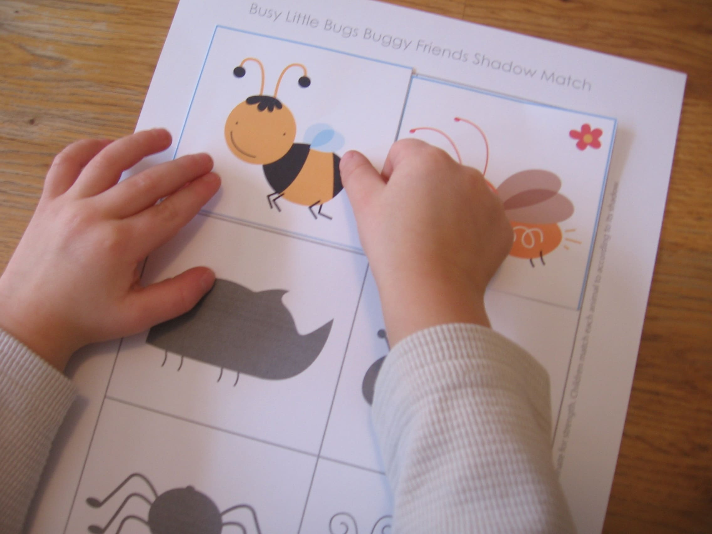 Hands-on Math for Preschool: The Letter \