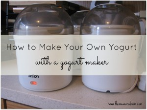 How to Make Yogurt with a Yogurt Maker