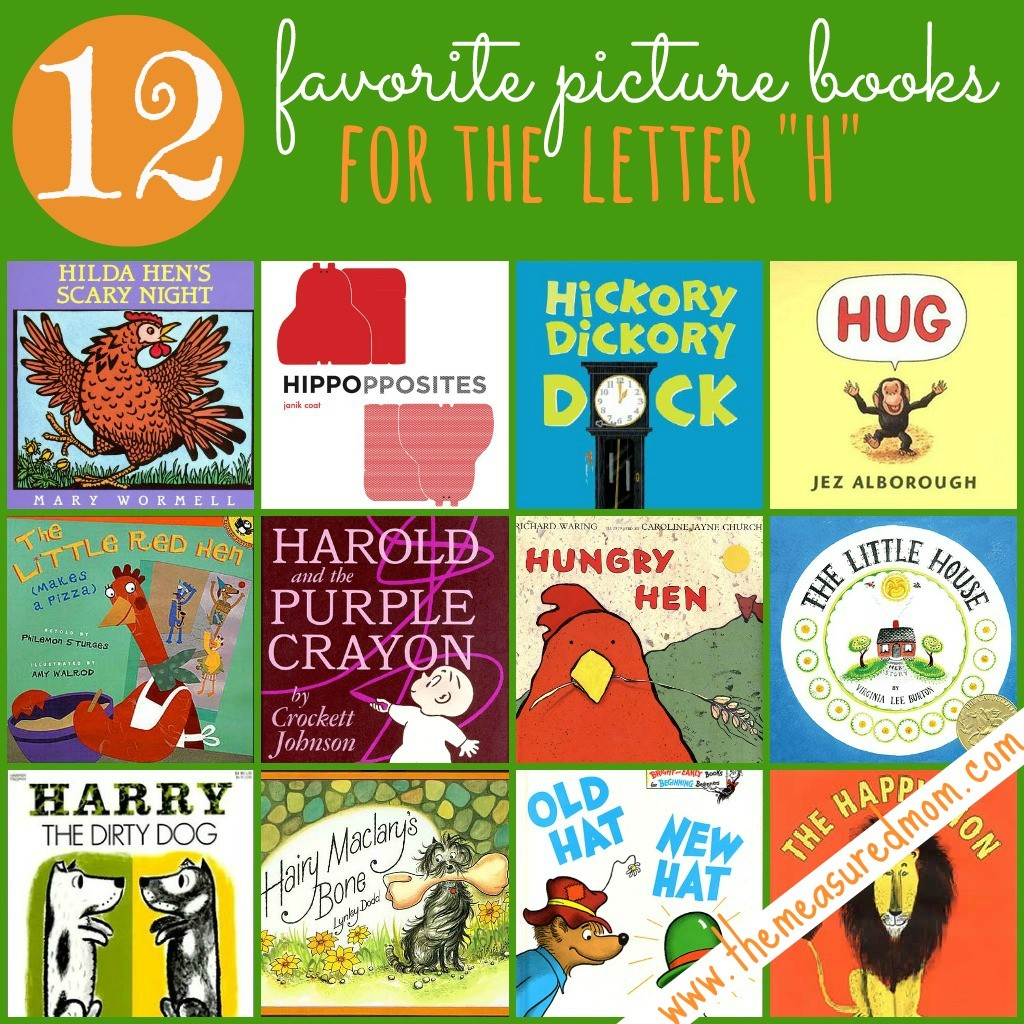 Here's a list of both classic titles and newer books to read for Letter H.