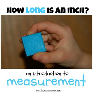 How long is an inch? (an introduction to linear measurement)