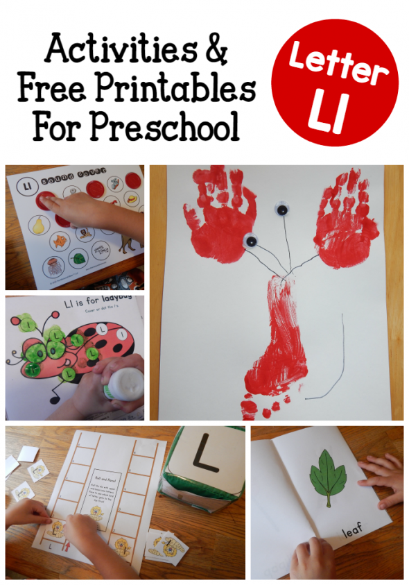 Letter L Activities for Preschool
