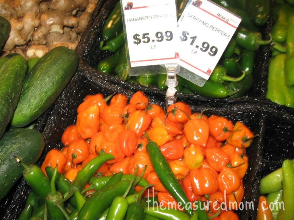 peppers (spicy)