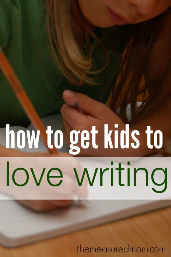 Would you like to know how to get kids to love writing? In this article you'll find fourteen ways!