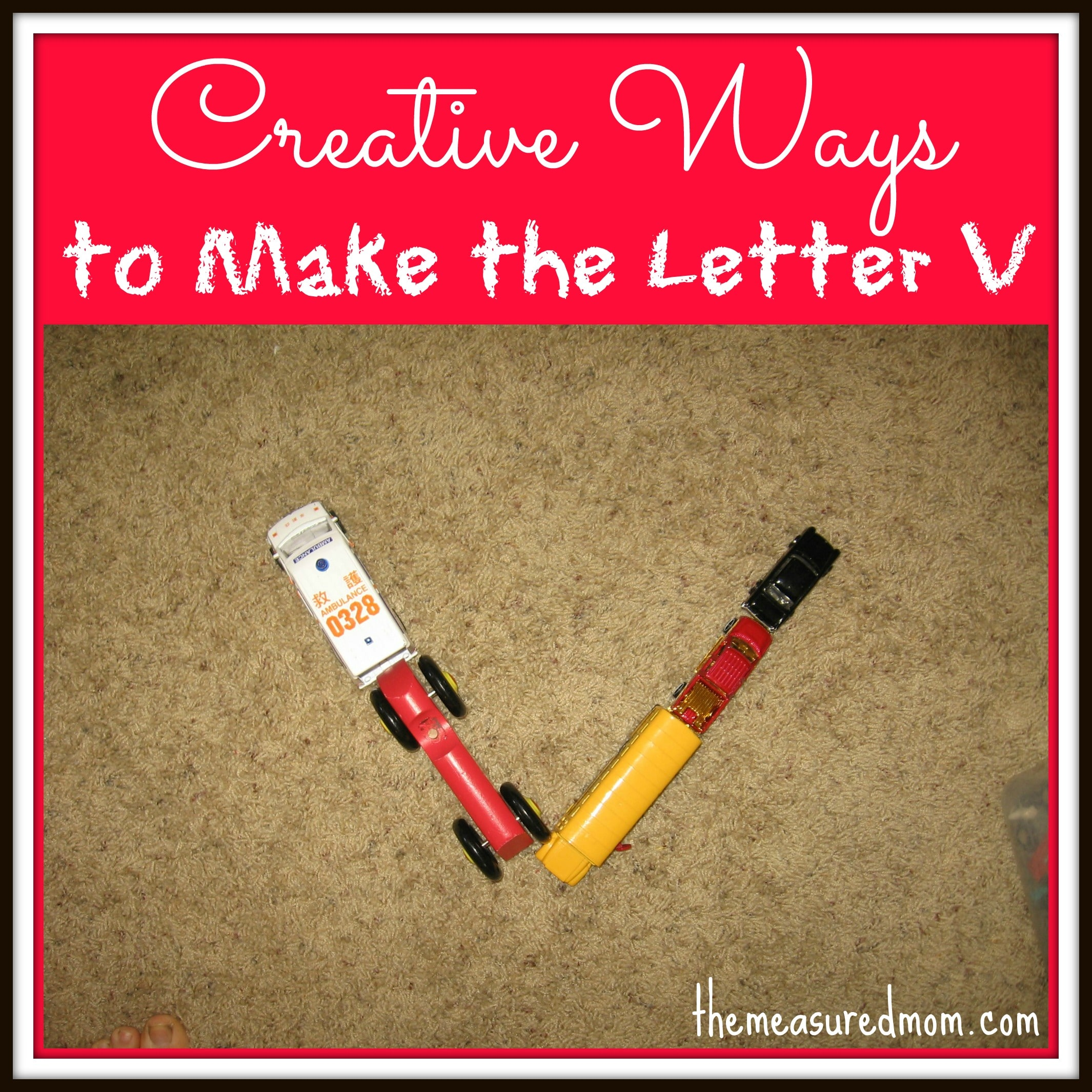 Creative Ways To Write Letters the measured mom