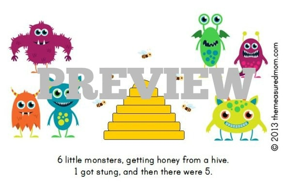Check out this adorable FREE printable book for early readers!