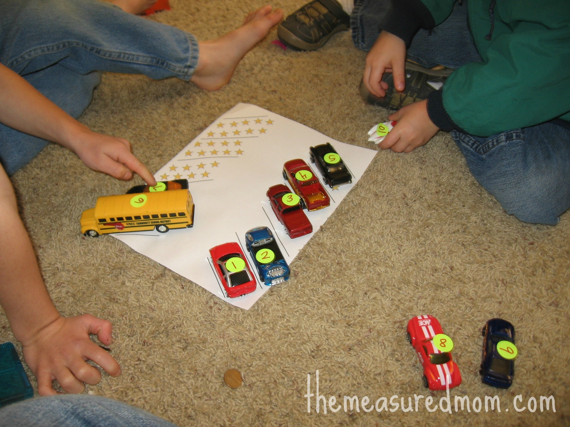 8 Preschool Math Ideas Using Toy Vehicles The Measured Mom
