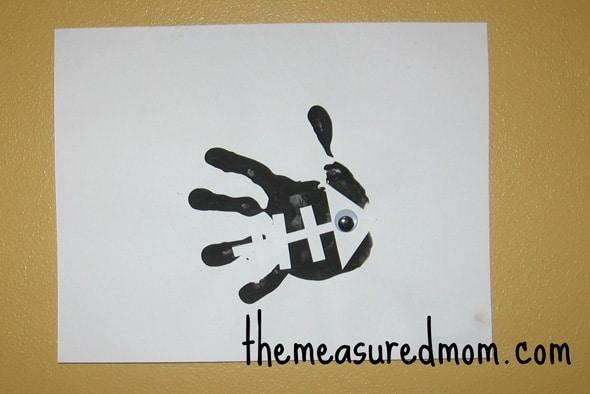 handprint X-ray fish letter X