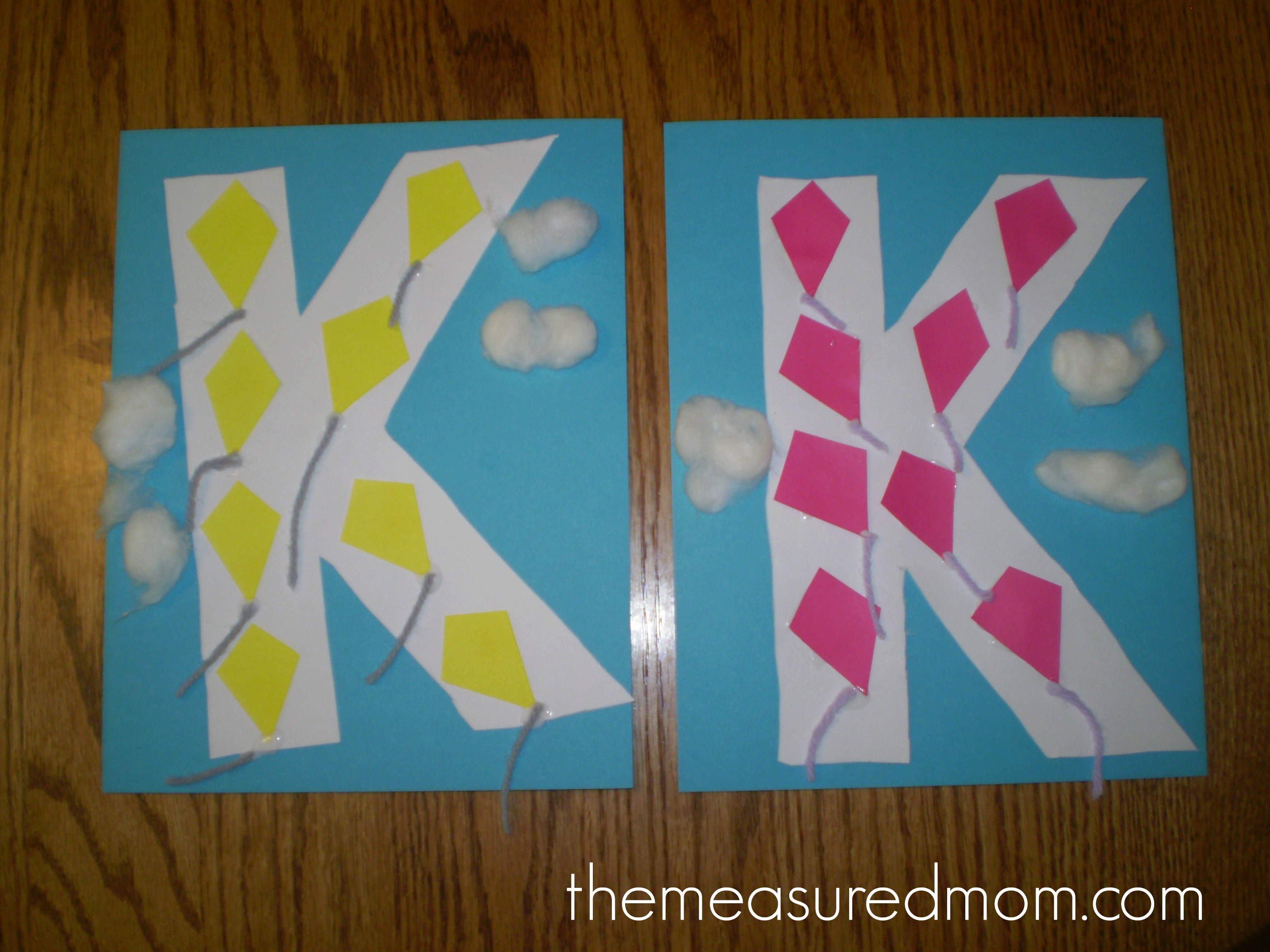 Find 7 letter K crafts for preschoolers!