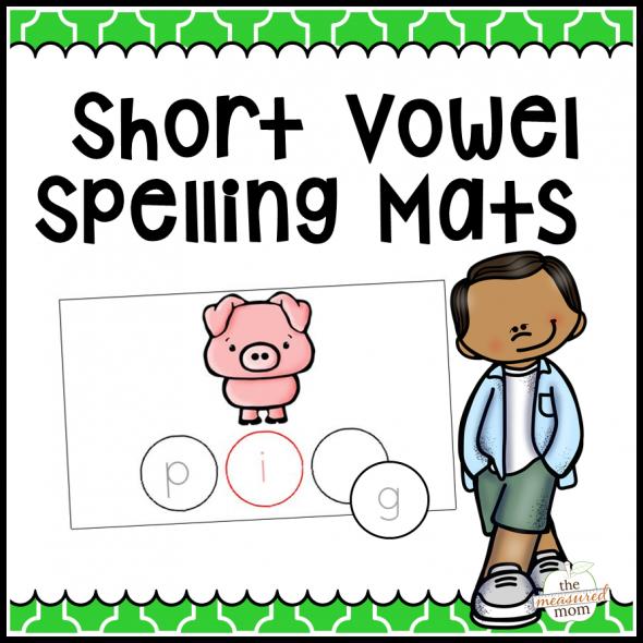 short-vowel-spelling-mats