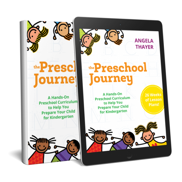 Do you want to know how to do preschool at home? This practical book is just what you need!