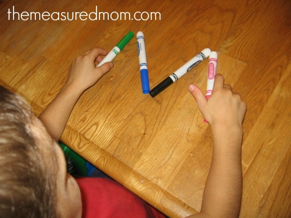 fun handwriting practice for preschoolers (3) - the measured mom