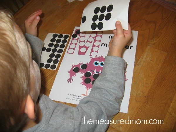Get this free letter M printable to reinforce the letter's shape and sound - and get some fine motor practice at the same time!