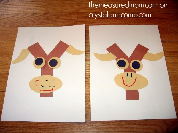Find 7 creative letter Y crafts at The Measured Mom!