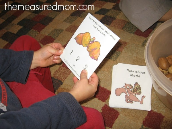 nuts about math (2) - the measured mom
