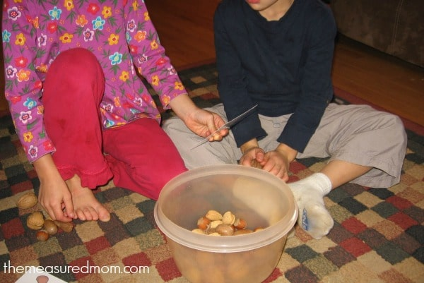 nuts about math (3) - the measured mom