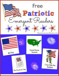 "Patriotic Emergent Readers (sight word ""it"")"