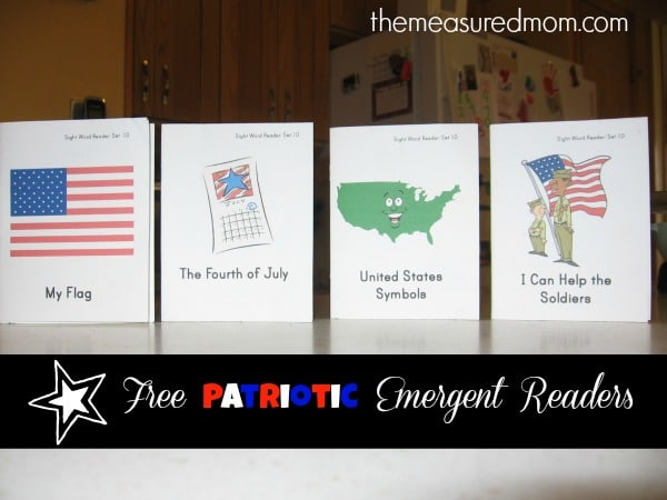 patriotic readers (10) - the measured mom