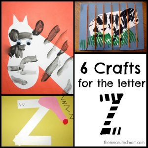 Crafts for Letter Z