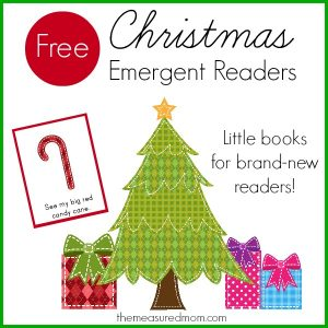 "Free Christmas Emergent Readers (sight word ""big"")"