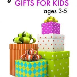 Find gifts for boys and girls ages 3-5... over 30 ideas!