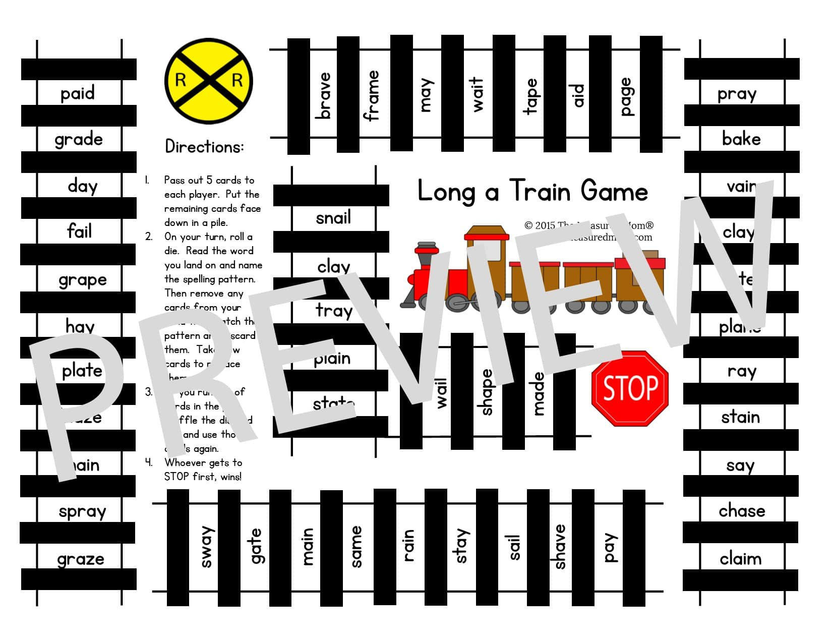 train game preview the measured mom. Black Bedroom Furniture Sets. Home Design Ideas