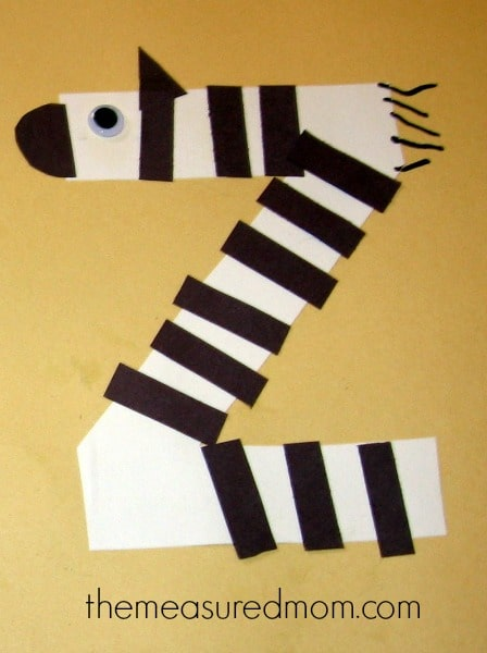 Awesome Looking For Some Crafts For Letter Z For Your Preschoolers? Weu0027ve Got Six