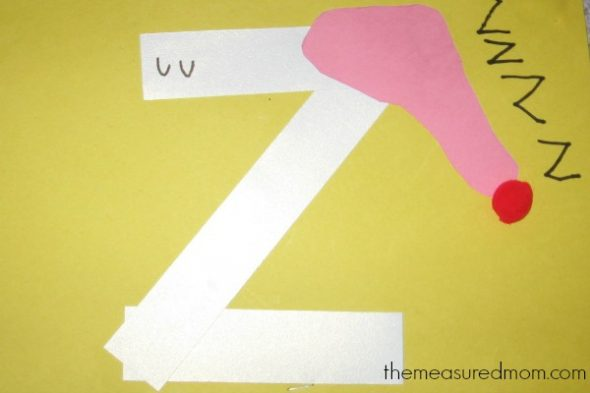 Crafts For Letter Z The Measured Mom