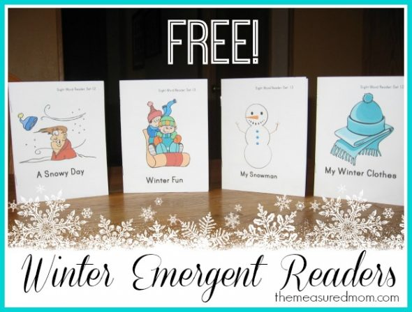 You'll love this set of FREE winter emergent readers!