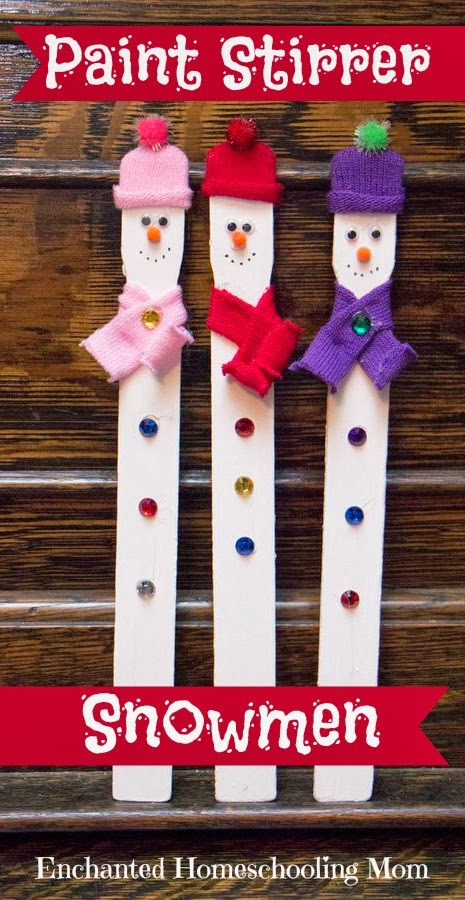 Need some last minute Christmas decorations? Your kids can make these!