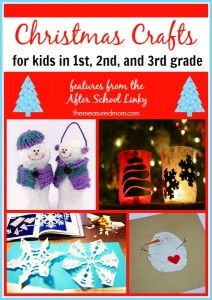 Christmas crafts for first, second, and third graders