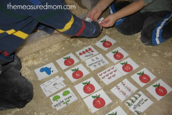teach short a with sensory play (10) - the measured mom
