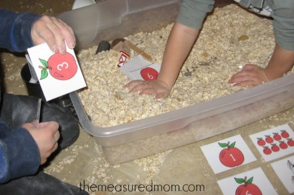 teach short a with sensory play (9) - the measured mom