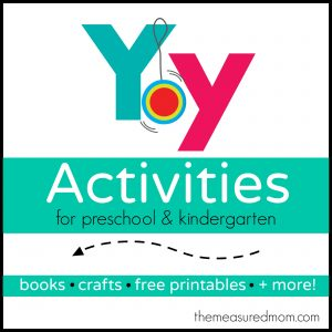 Letter Y Activities - the measured mom
