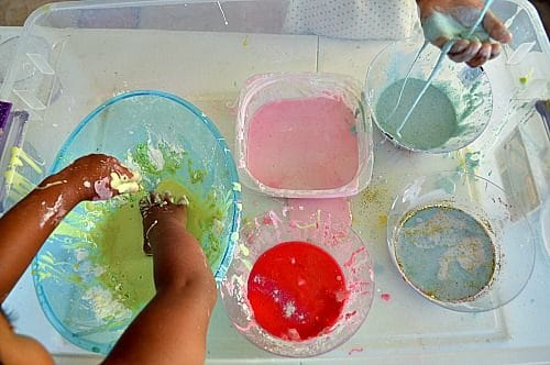 color changing oobleck blog me mom