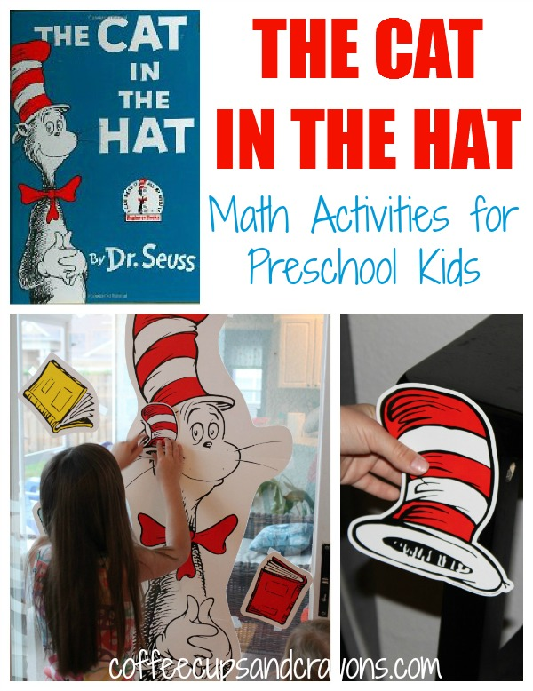 Looking for fun Dr. Seuss activities for kids? In this post you'll find learning and play ideas for The Cat in the Hat, Green Eggs and Ham, and The Lorax!
